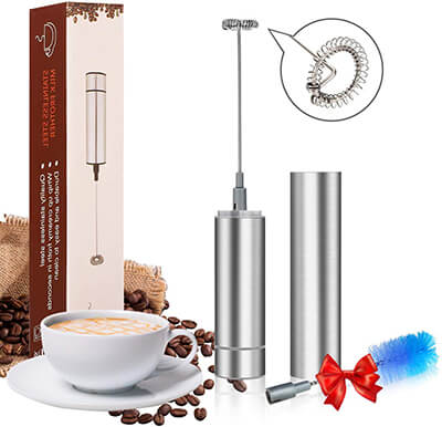 Giom Handheld Electric Milk Frother