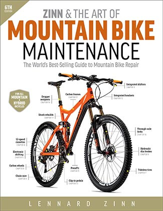 Zinn & the Art of Mountain Bike- Maintenance
