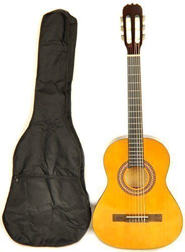 OMEGA Left Handed Classical Acoustic Guitar
