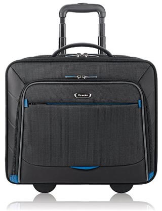 Solo Active 16-Inch Rolling Overnighter Case with Padded Laptop Compartment