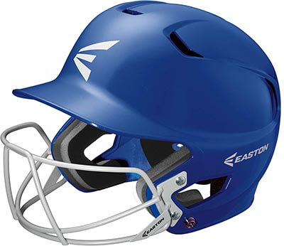 EASTON Z5 Batting Helmet with Baseball Softball Mask with Dual Density Impact Absorption Foam