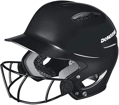 DeMarini Paradox Protege Batting Helmet with Mask