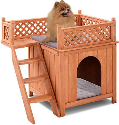 Giantex Pet Dog Wooden House