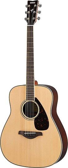Yamaha FG830 Solid Top-Folk Guitar, Natural
