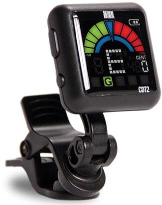 So There Rechargeable Clip-on Tuner for Stringed Instruments- Guitar, Bass, Ukulele, Violin