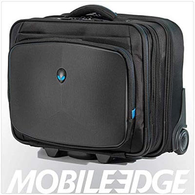 Mobile Edge Alien ware Vindicator Bag Rolling Laptop Case