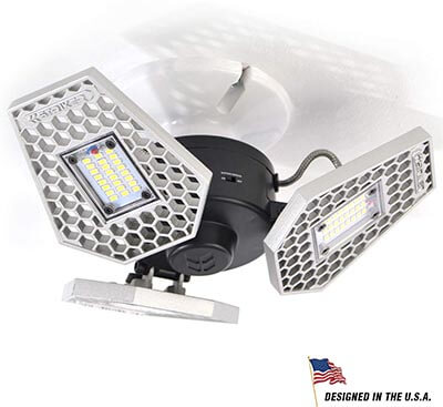 Striker Concepts TRiLIGHT 3000 Lm Screw-in Motion-Activated Ceiling Light