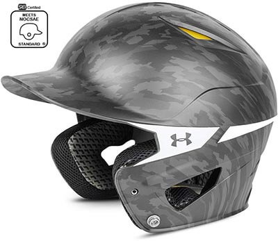 Under Armour Digi Camo Converge Batting Helmet