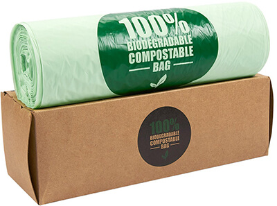 Juvale Biodegradable garbage bags