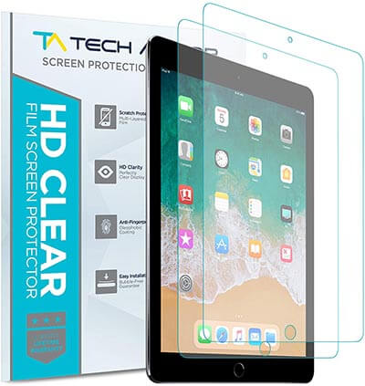 Tech Armor Anti-Glare Film Screen Protector Designed for iPad Pro 10.5 and Apple iPad Air 3