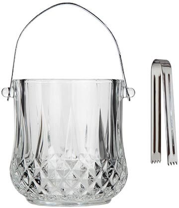 Lily's Home Glass Ice Bucket