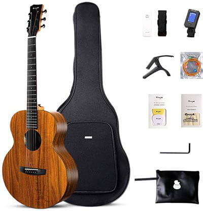 Enya EM-X1 Acoustic Guitar HPL 36-Inch Travel Guitar