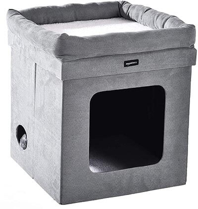 AmazonBasics Collapsible Cat House/Condo