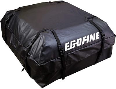 Egofine Rooftop Waterproof Car Rooftop Cargo Carrier Bag for Cars