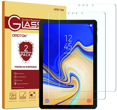 OMOTON Tempered Glass Galaxy Tab S4 10.5'' Screen Protector