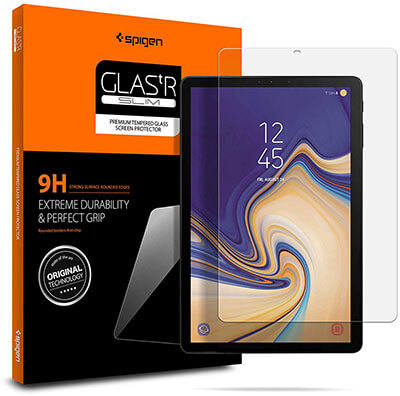 Spigen Galaxy Tab S4 Tempered Glass Screen Protector