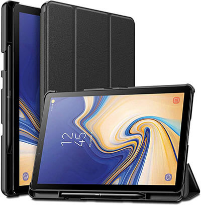 Infiland Galaxy Tab S4 Case with S Pen Holder