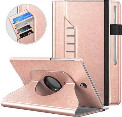 Moko 5 Angle, 360 Rotating Case for Galaxy Tab S4