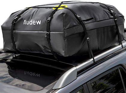 Audew Waterproof Rooftop Cargo Bag Soft Shell Luggage Rack Bag