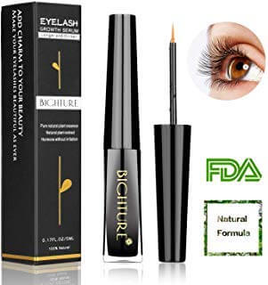 Bighture Natural Eyelash Growth Serum - Longer and Thicker Eyelash