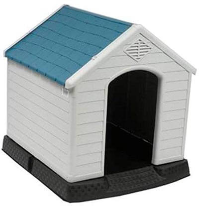No! No! Plastic Indoor Outdoor Dog House for Small to Medium