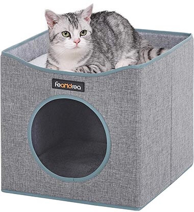 FEANDREA Foldable Cat Condo