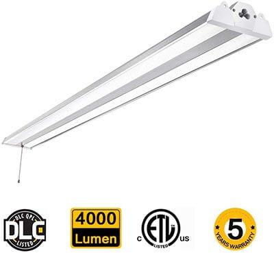 SZGMJIA 4FT 40W Linkable LED CREE LED 4000 Lm Super Bright Hanging/Flush Mount Garage Utility Light