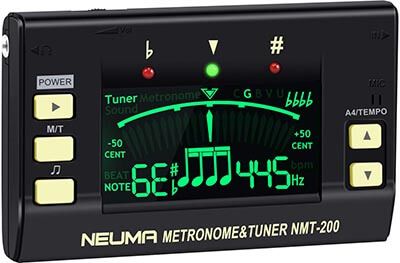 NEUMA Digital Metronome Guitar Tuner