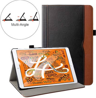ZoneFoker New iPad Air 3 10.5-inch 2020 Tablet Leather Case
