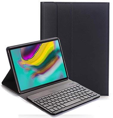 RLTech Samsung Galaxy TAB S5e Keyboard Leather Case