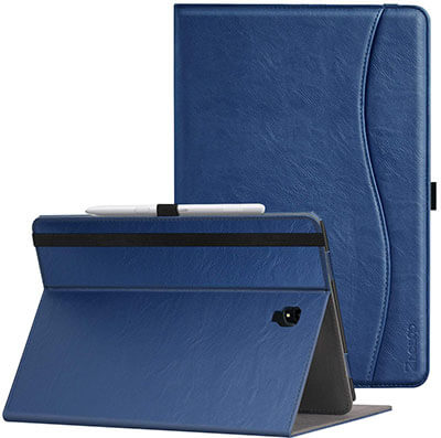 Ztotop Galaxy Tab S4 10.5 Inch Tablet PU Leather Case