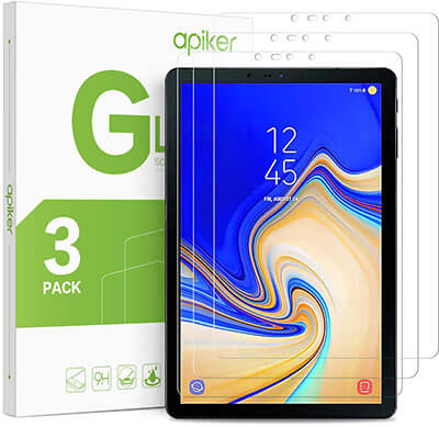 Apiker Galaxy Tab S4 Screen Protector Works with S Pen