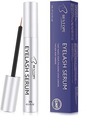 BESTOPE Natural Brow Lash Enhancer Eyelash Growth Serum
