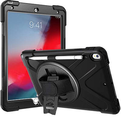 Rantice iPad Air 3 Case, Heavy Duty Hybrid Shockproof Protection Cove