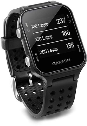 Garmin Approach S20 GPS Golf Watch with Preloaded Courses