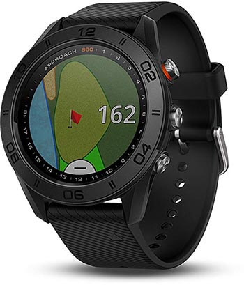Garmin Approach S60, Touchscreen Display Premium GPS Golf Watch