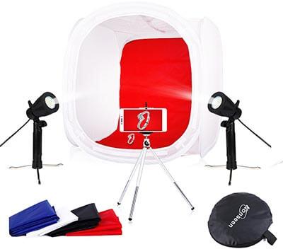 Konseen Photo Studio Shooting Tents Box with Lighting kit and Light Diffusion Box