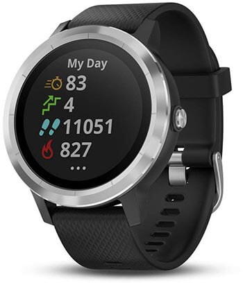 Garmin vívoactive 3, GPS Smartwatch with Built-in Sports Apps