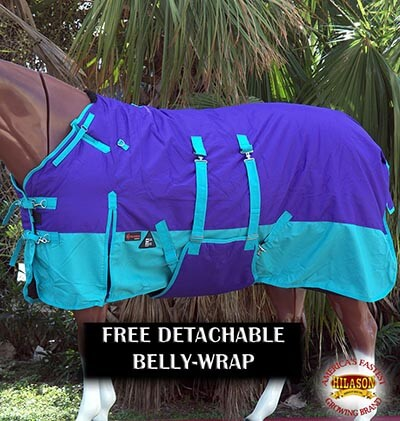 "HILASON 78"" Winter Horse Blanket"