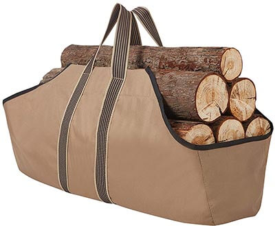 RORAIMA Firewood Log Signature Log Totes Heavy Duty Canvas