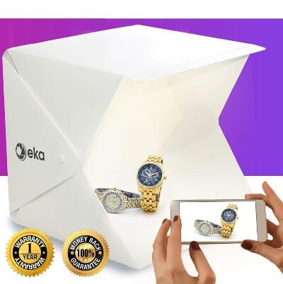 eka Co Portable Photo Studio, Mini LED Studio Photo Box