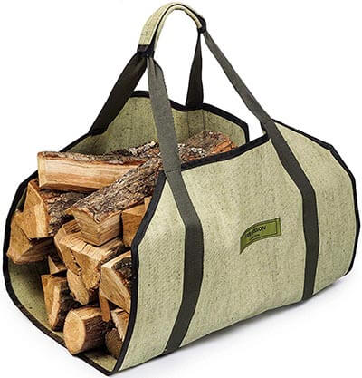 Sergisson Firewood Carrier Log Tote Wood Carrying Bag