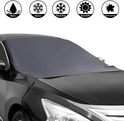 Shynerk Magnetic Edges Car Snow Cover Waterproof Windshield Protector