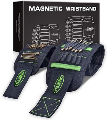 Trumno Magnetic Tools Holding Wristband