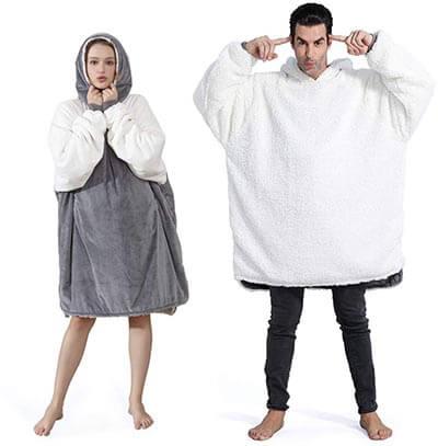 Winthome Sherpa Blanket Sweatshirt
