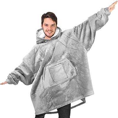 Rongo Sweatshirt Hoodie Blanket