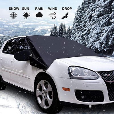TOPLUS Snow Cover All Weather Windshield Protector