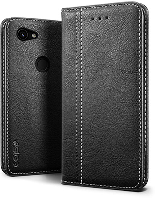 SLEO Luxury Retro Wallet Premium Leather Flip Case