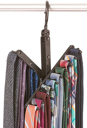 StorageMaid - 3-Pack - Tie & Belt Rack