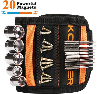 Komkaer Wrist Band Tool Belt Magnetic Wristband